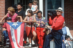 A Puerto Rican family Royalty Free Stock Photography
