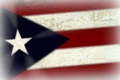 Puerto Rican flaga obraz stock