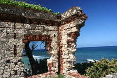 Puerto Rican Ruin Royalty Free Stock Image