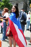 Puerto Rican Street Parade Stock Images