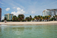 Puerto Rico 1. I took this shot on the lovely shores of San Juan In Puerto Rico Last Summer On Vacation Stock Photos