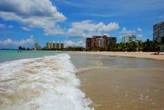 Puerto Rico 18. The beautiful warm shores of San Juan In Puerto Rico Royalty Free Stock Photography