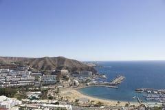 Puerto Rico, antena de Gran Canaria Fotografía de archivo libre de regalías