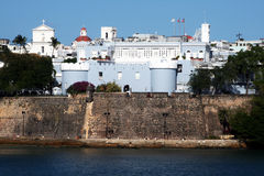 Puerto rico architecture Stock Image