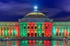 Puerto Rico Capitol Building - San Juan fotografering för bildbyråer