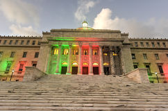 Puerto Rico Capitol Building - San Juan Royaltyfria Bilder