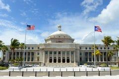 Puerto Rico Capitol, San Juan, Puerto Rico stock foto's
