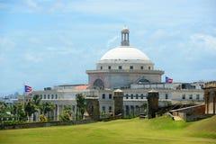 Puerto Rico Capitol, San Juan, Puerto Rico imagenes de archivo