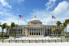 Puerto Rico Capitol, San Juan, Puerto Rico imágenes de archivo libres de regalías