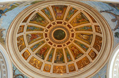 Puerto Rico Capitol, San Juan, Puerto Rico. Rotunda of Puerto Rico Capitol (Capitolio de Puerto Rico). This building is a Beaux-Arts Building at downtown San stock photography