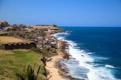 Puerto Rico Coast Royaltyfria Foton