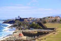 Puerto Rico coast Stock Image