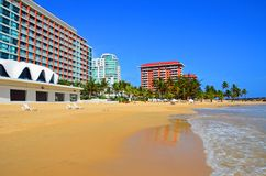 Puerto Rico - Condado Beach Royalty Free Stock Images