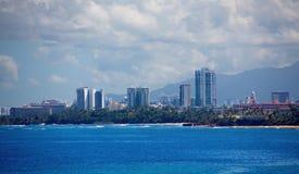 Puerto Rico Condos royalty-vrije stock foto's