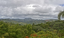 Puerto Rico countryside Stock Images