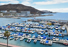 Puerto Rico de Gran Canaria Fotografia Stock