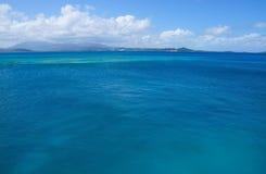 Puerto Rico in einem Abstand Stockfoto
