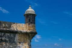 Puerto Rico - EL Morro do forte Imagens de Stock