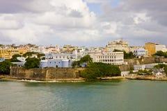 Puerto Rico en un día nublado Imágenes de archivo libres de regalías