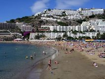 Puerto Rico Gran Canaria lizenzfreie stockfotografie