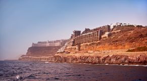 Puerto Rico in Gran Canaria Royalty Free Stock Photography