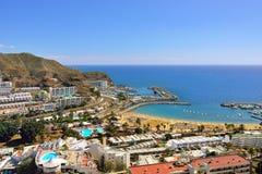 Puerto Rico, Gran Canaria Foto de archivo