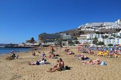 Puerto Rico, Gran Canaria Stock Photography