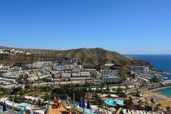 Puerto Rico, Gran Canaria Royalty Free Stock Photography