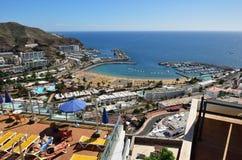 Puerto Rico, Gran Canaria, Spanje royalty-vrije stock afbeelding