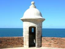 Watchtower Old San Juan. Puerto Rico Historic Site  Castillo San Cristobal Stock Photos