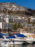 Puerto Rico Holiday Resort Gran canaria Spanje stock foto
