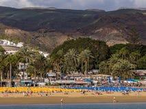 Puerto Rico Holiday Resort Gran canaria Spanje Royalty-vrije Stock Afbeeldingen
