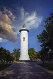 Puerto Rico Lighthouse. Punta Higuera Light House in Rincon Puerto Rico Stock Photography
