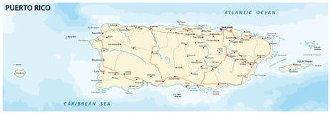 Puerto Rico Map Stock Illustrations – 1,087 Puerto Rico Map Stock ...