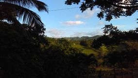 Puerto Rico Mountain sikt Royaltyfri Bild
