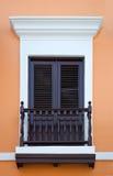 puerto rico okno Obraz Stock