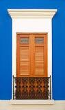 puerto rico okno Zdjęcia Royalty Free