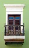 puerto rico okno Obrazy Royalty Free