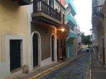 Puerto Rico old San Juan. Old San Juan stock photo