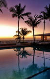 Puerto Rico Pool bei Sonnenaufgang Lizenzfreie Stockfotografie