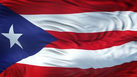 PUERTO RICO Realistic Waving Flag Background ilustración del vector