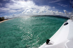 Puerto Rico Sailing Royaltyfri Fotografi
