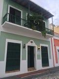 Puerto Rico San Juan viejo Fotografía de archivo