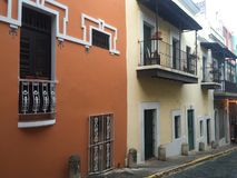 Puerto Rico San Juan viejo Imagen de archivo