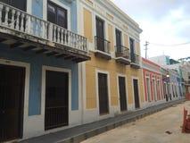 Puerto Rico San Juan viejo Imágenes de archivo libres de regalías