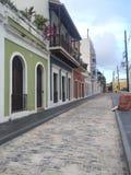 Puerto Rico San Juan viejo Fotografía de archivo libre de regalías