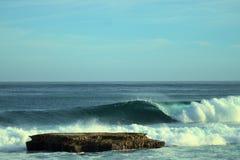 Puerto Rico Seascape avec le récif photo libre de droits