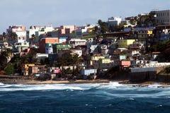 Puerto rico shacks Stock Photos