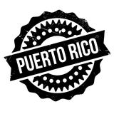 Puerto Rico stamp Royalty Free Stock Photography