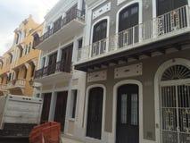 Puerto Rico stary San Juan Obrazy Stock